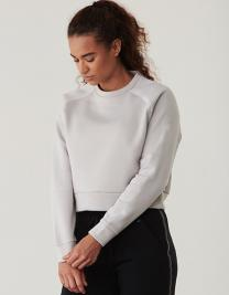 Ladies` Cropped Sweatshirt